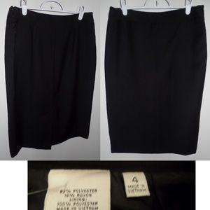 Jones New York Skirts - NWT Jones New York Black Career Skirt Suit, sz 4